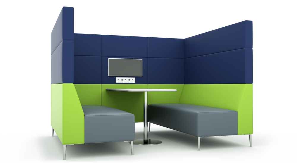 Citrus Seating Meeting Booths Acoustic Meeting Pods