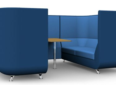 Citrus Seating Meeting Booths