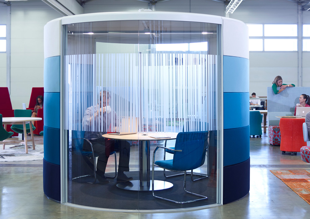 Orangebox Air Pod S Acoustic Meeting Pods